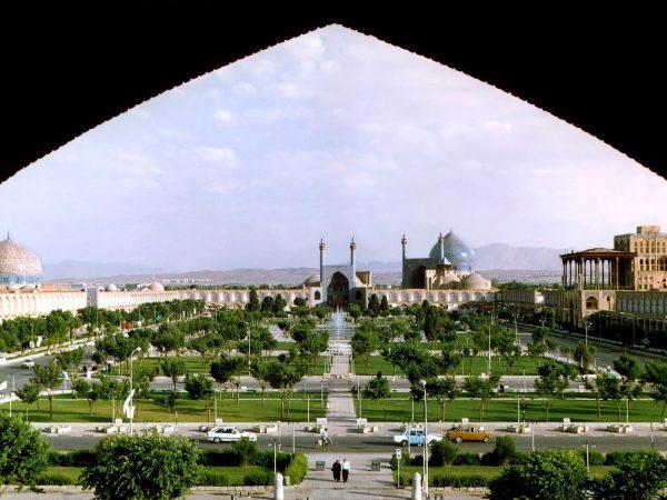 Naghshe Jahan Square Isfahan modified