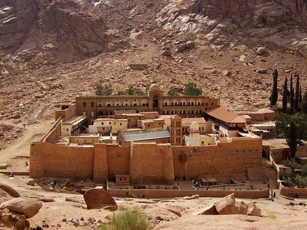 EGIPTO SANTA CATALINA