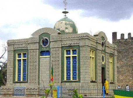 ETIOPÍA AXUM SANTA MARÍA DE SIÓN