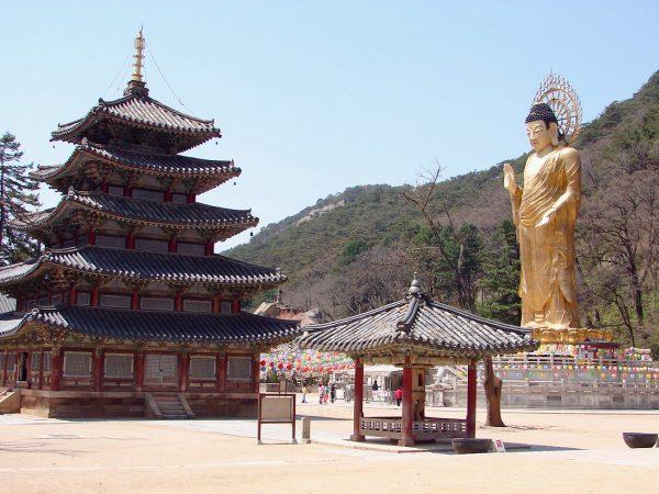 KOREA TEMPLO BUDISTA